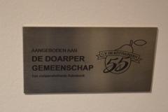 2020 Aanbieden geschenk Dorper Esch